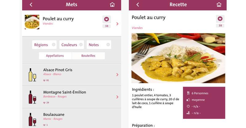 blog vin beaux-vins top apps smartphone un met un vin