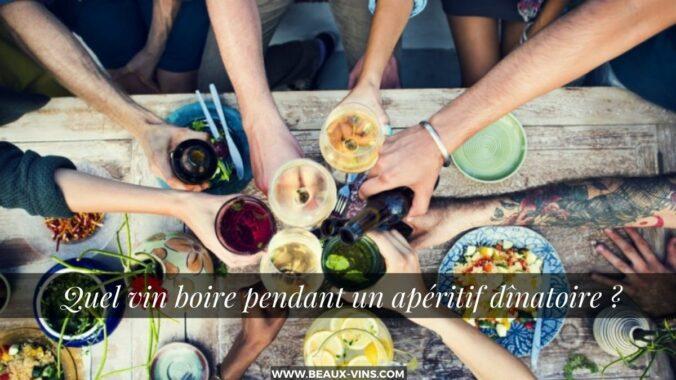 Quel vin pour un aperitif dinatoire