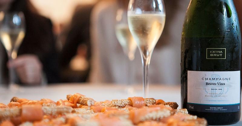 Blog vins Beaux-Vins oenologie dégustation vin champagne saumon fumé
