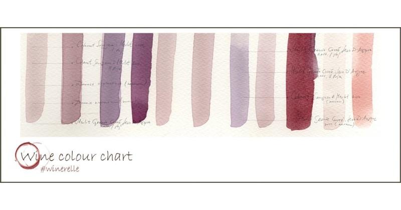 Blog Beaux-Vins dégustation oenologie vin peindre peinture Sanja Jankovic artiste couleurs