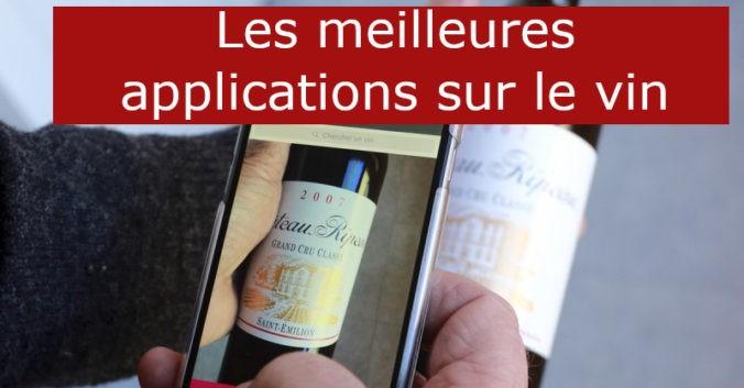 blog Beaux-Vins meilleures applications sur le vin