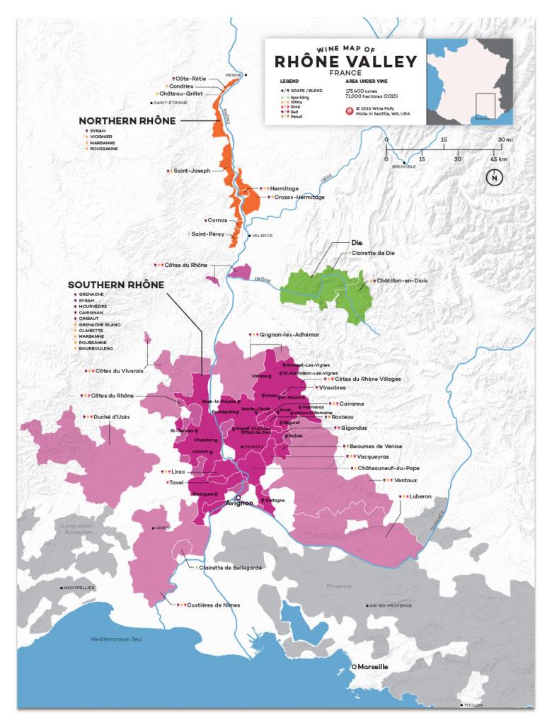 blog vin Beaux-Vins vignoble vins carte Vallée du Rhône oenologie dégustation
