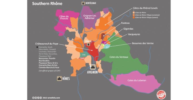 blog vin Beaux-Vins vignoble vins carte sud méridional Vallée du Rhône oenologie dégustation