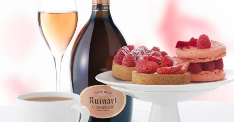 blog vin Beaux-Vins oenologie champagne dessert accord champagne rosé