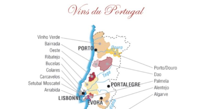 blog vin Beaux-Vins oenologie dégustation carte Porto