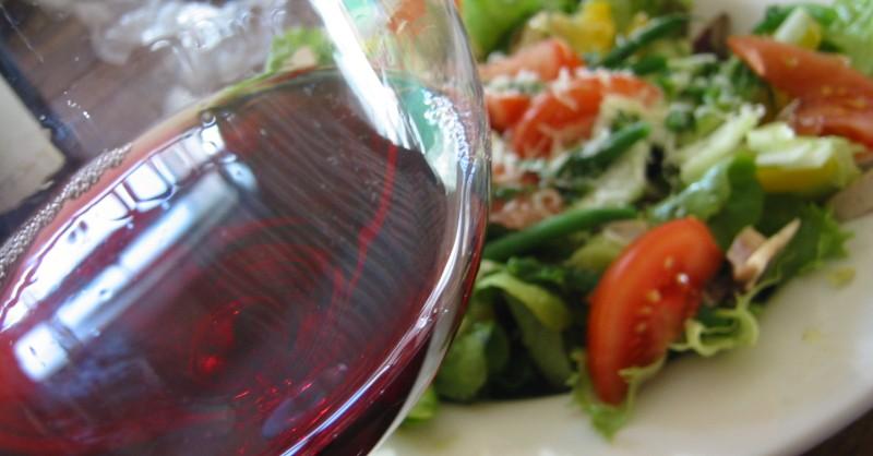 blog vin Beaux-Vins salade oenologie accords