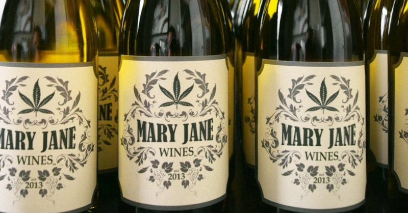 Blog Beaux-Vins dégustation déguster oenologie vin cannabis Mary Jane Wine