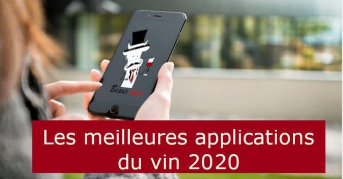 Blog vin Beaux-Vins meilleures applications app vins 2020
