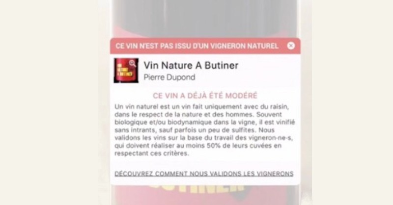 blog vin Beaux-Vins application applications 2019 smartphone oenologie Raisin