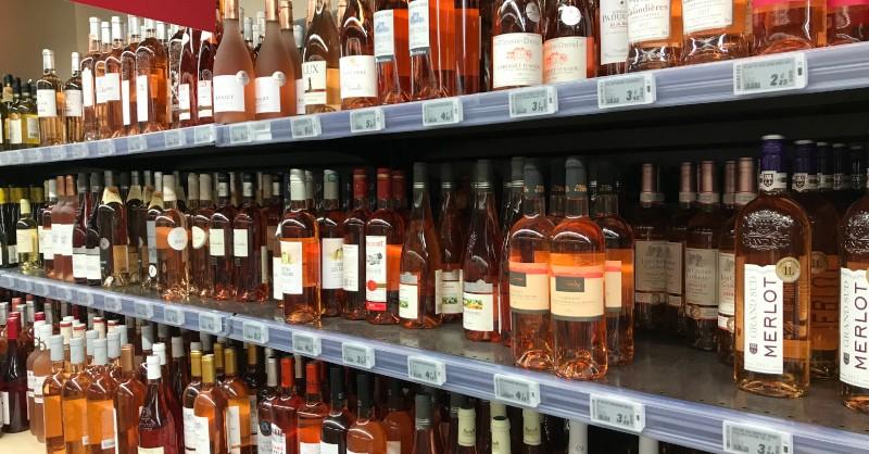 vin supermarche grande surface blog beaux-vins oenologie défaut goût de lumière