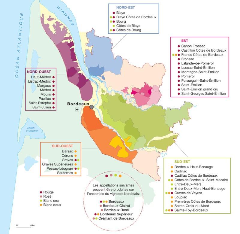 blog vin Beaux-Vins oenologie dégustation carte vignoble Bordeaux