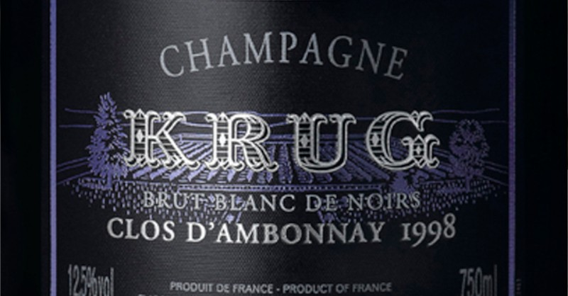 blog vin beaux-vins oenologie dégustation Champagne Krug vins plus cher monde
