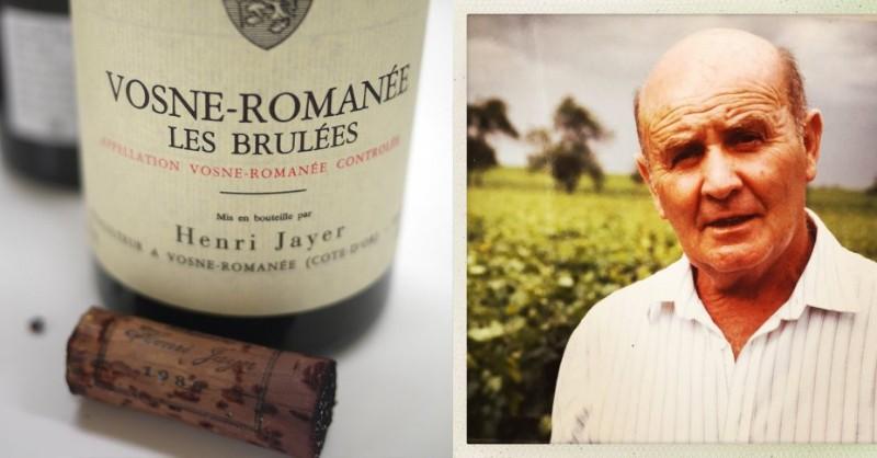 blog vin beaux-vins oenologie dégustation Henry Jayer vins plus cher monde