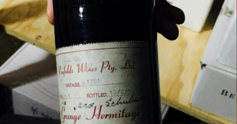 blog vin beaux-vins oenologie dégustation penfolds 1951 vins plus cher monde