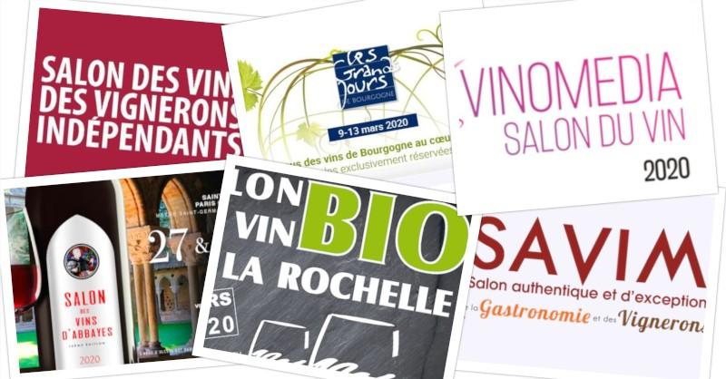 Beaux-Vins Vos évènements vin vins à ne pas manquer en Mars 2020 menu