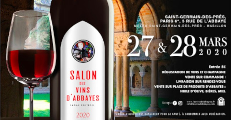 Blog vin Beaux-Vins evenements dégustation oenologie sortie Mars vins d'abbayes paris