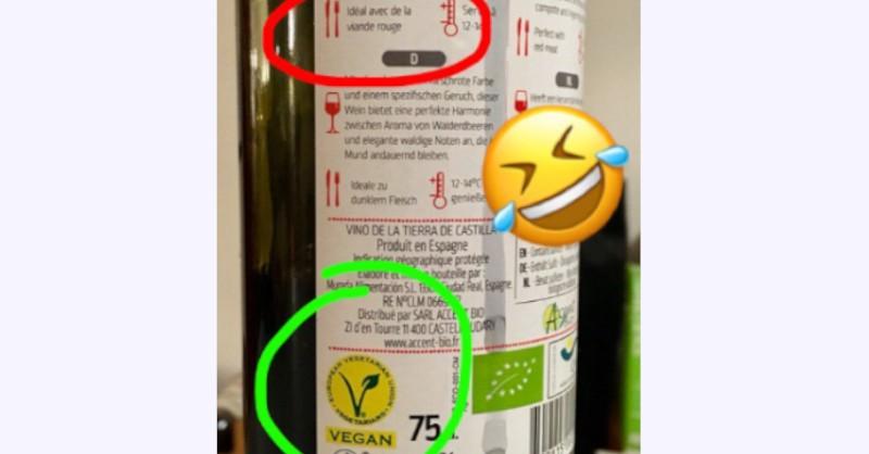 vin vegan vegetalien humour viande lol oenologie degustation blog beaux-vins