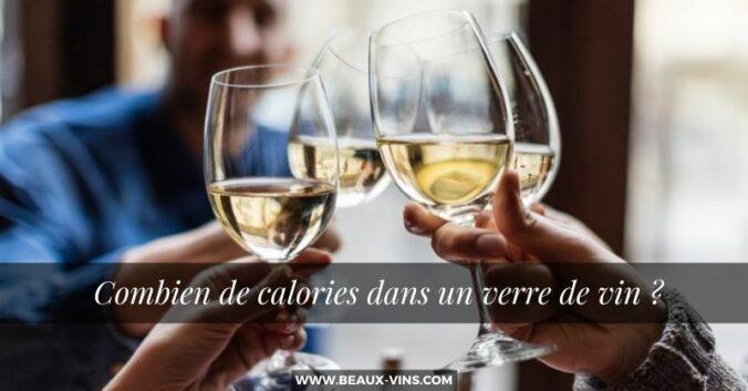 Combien de calories dans un verre de vin