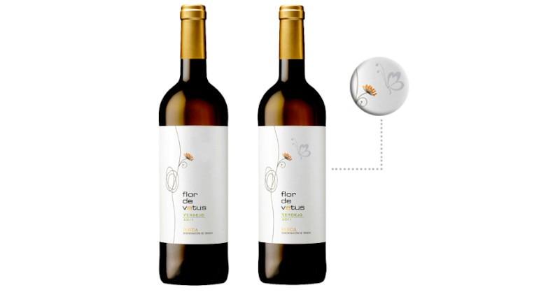 blog beaux-vins etiquette thermochromique flor de venus