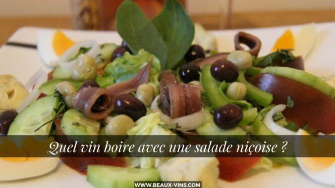 Quel vin salade nicoise accompagner