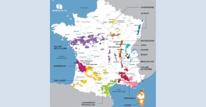 Universite du vin Lyon Tour de France des regions viticoles