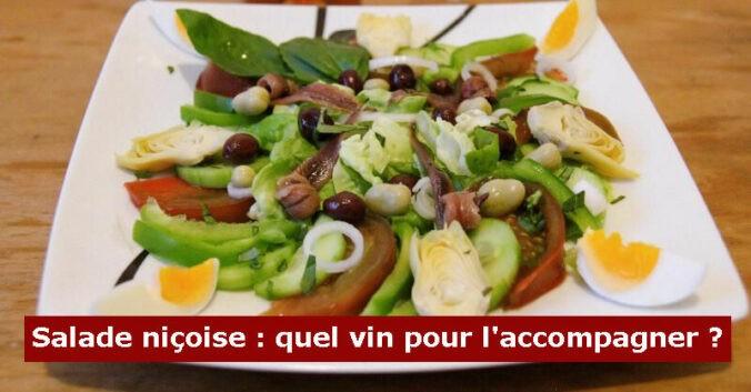 blog vins beaux-vins recette accord mets vin salade nicoise