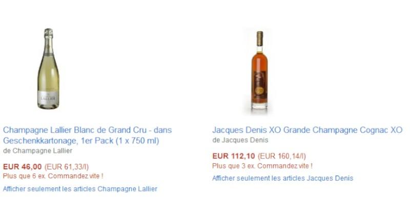 blog vin beaux-vins amazon vin Champagne