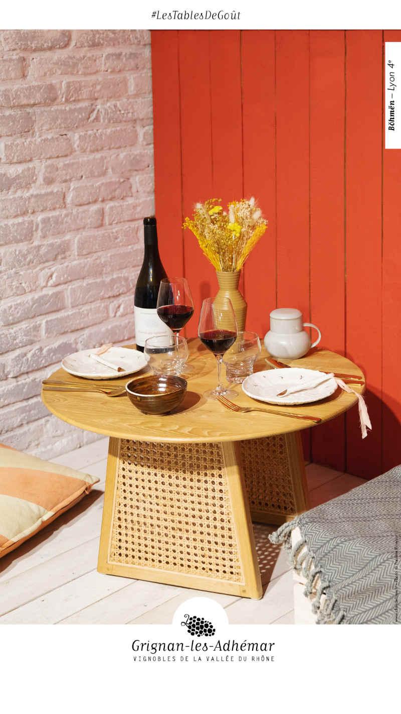 blog vin beaux-vins grignan-les-adhemar Bohmen