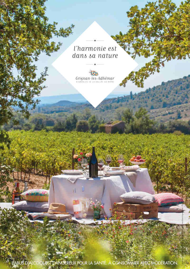 blog vin beaux-vins grignan-les-adhemar ancienne affiche