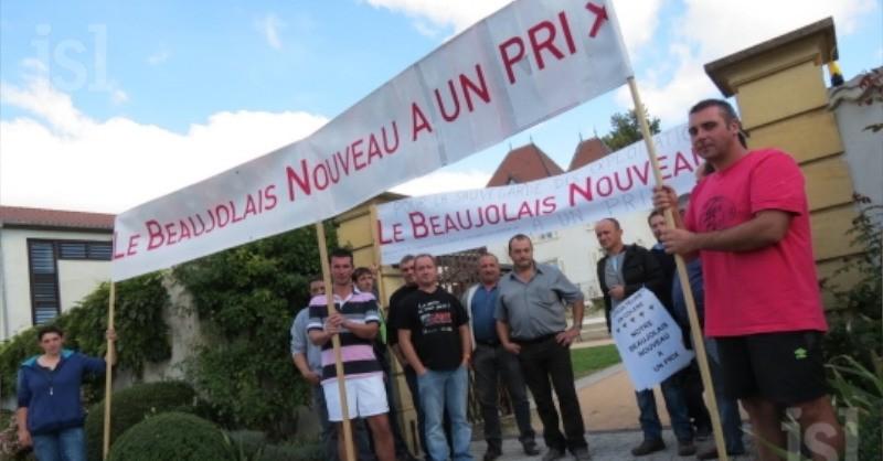 blog vin beaux-vins manifestation prix beaujolais