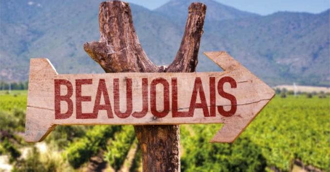 Beaujolais fleche direction