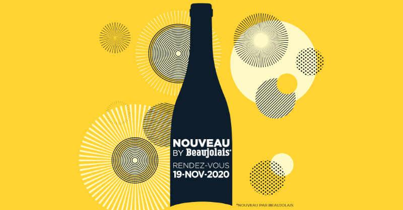 blog vin beaux-vins affiche Nouveau by beaujolais 2020