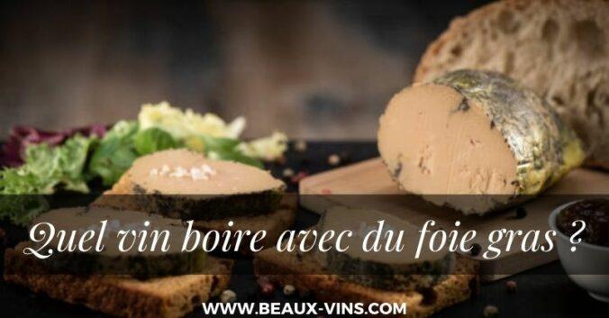 blog vin beaux-vins accord vins foie gras