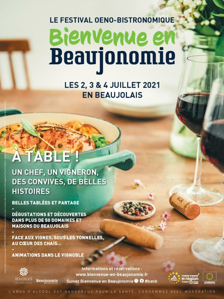Evenement vin Bienvenue en Beaujonomie
