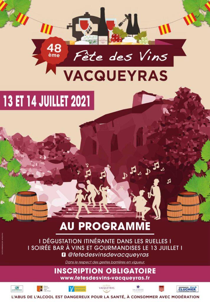 Fête des vins de Vacqueyras 2021