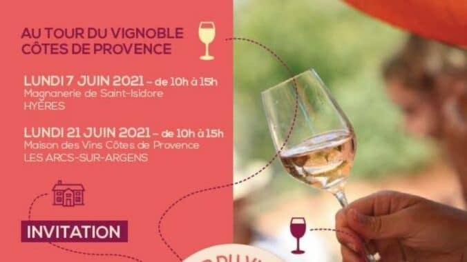 Au tour du vignoble Côtes de Provence