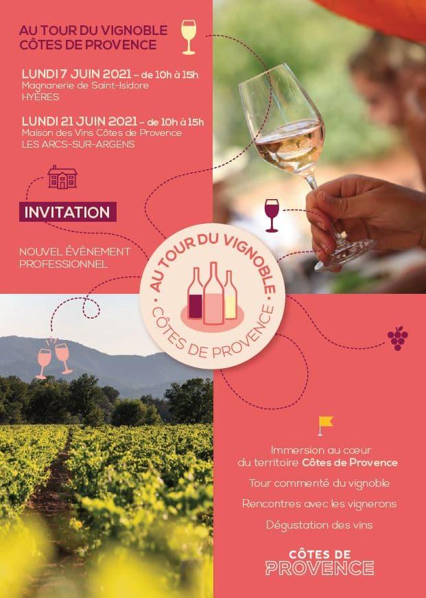 CIVP-Au tour du vignoble Cotes de Provence