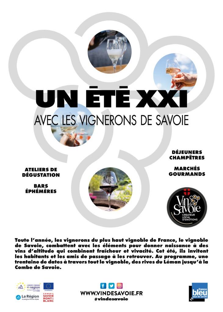 Un été XXI avec les vignerons de Savoie