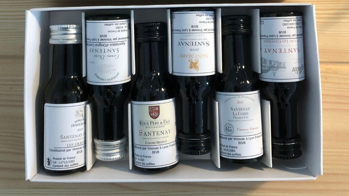 Vinovae echantillon vin